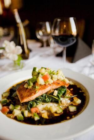 Chardonnay food pairing fish