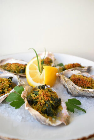 Riesling food pairing Oyster