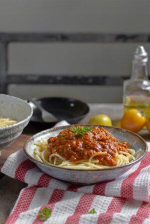 Dornfelder food pairing Pasta