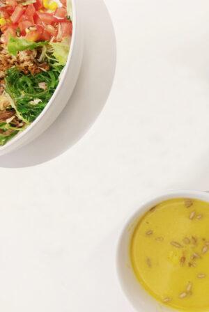 Blanc de Noir Foor Pairing Salad